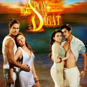 Apoy Sa Dagat Poster